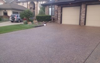 Sherwood Park Exposed Aggregate